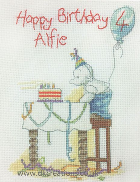 Humphreys Corner Birthday Candles Cross Stitch Kit